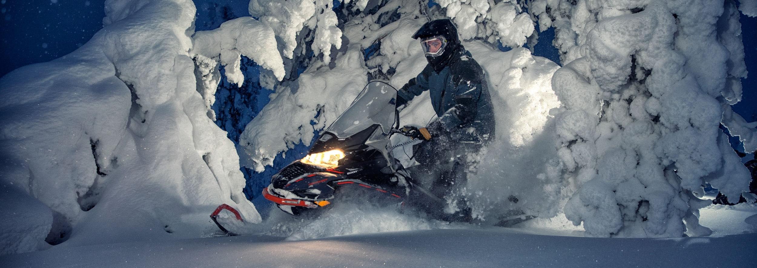 Сравнение 900 снегоходов Ski-Doo Expedition и Lynx Commander
