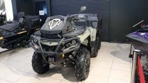 CAN-AM OUTLANDER 6×6 V-650 EFI С ПРОБЕГОМ 4800 КМ