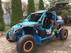 КВАДРОЦИКЛ CAN-AM MAVERICK X3 XRC ОТ BRP С ПРОБЕГОМ
