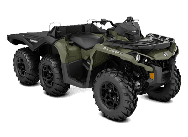 Can-Am OUTLANDER 650 EFI *T 6Х6