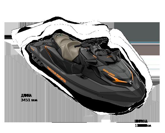 Sea-Doo GTX 230 2022 с аудиосистемой и IDF