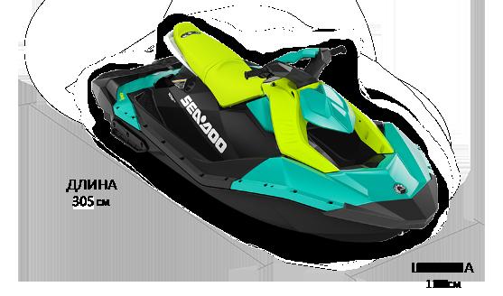 Sea-Doo SPARK 3UP 90 IBR 2022