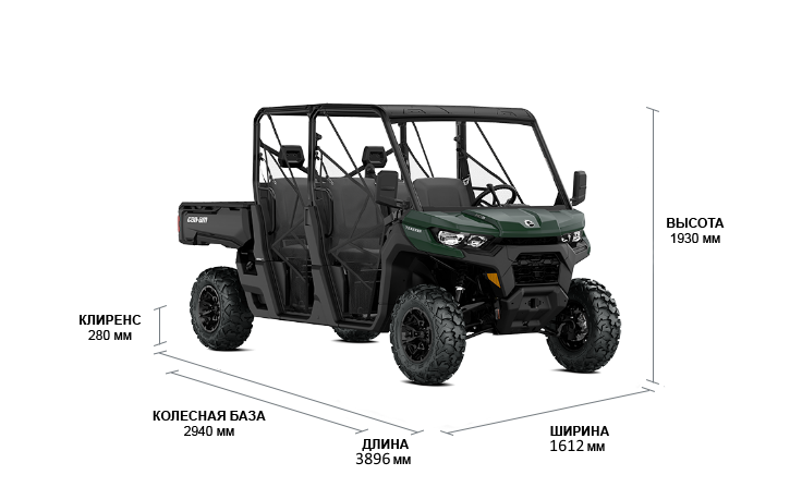 Can-Am TRAXTER MAX DPS HD9 2022