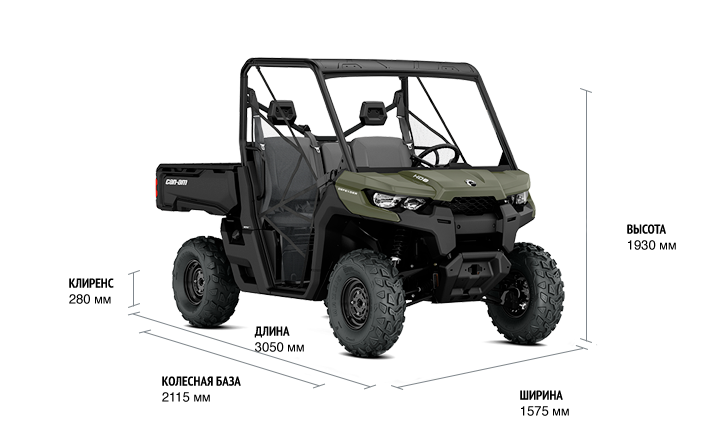 BRP Can-Am Traxter Base HD5 (2018 м.г.)