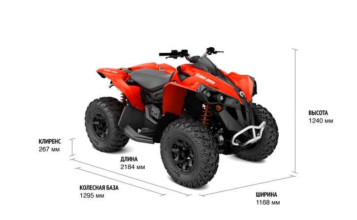 BRP Can-Am Renegade 570 (2017 м.г.)
