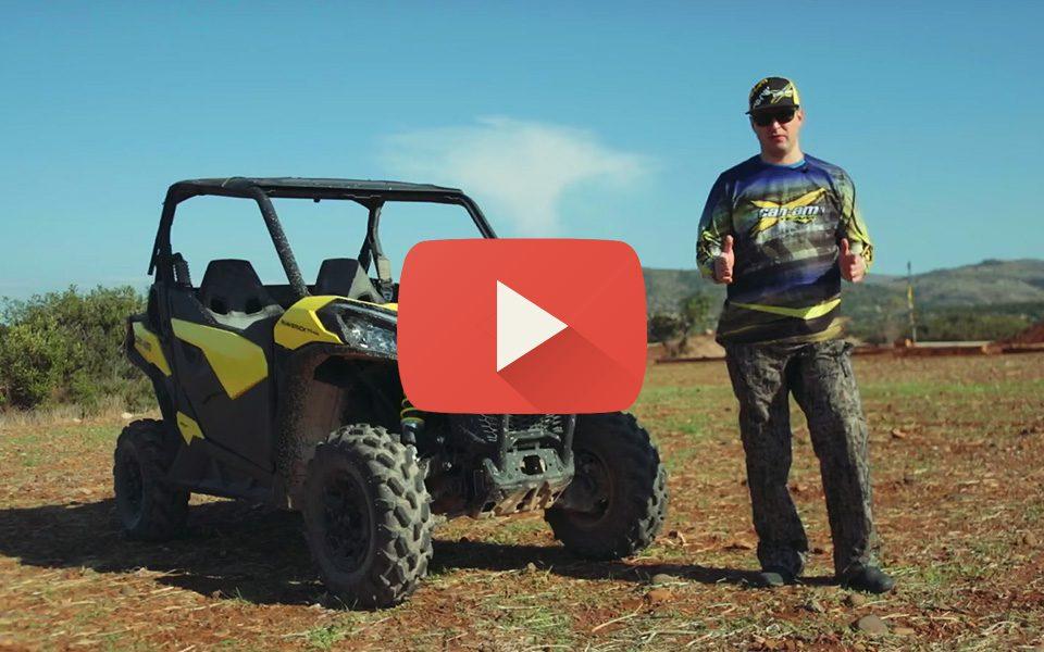 Видео обзор квадроцикла Maverick Trail