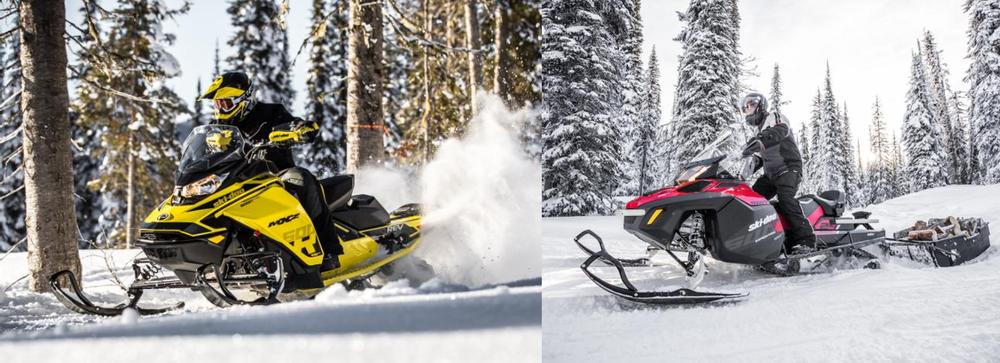 SKI-DOO представляет два новых снегохода