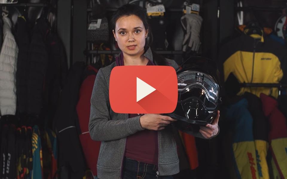 Видео обзор шлема Ski-Doo EX-2 Enduro