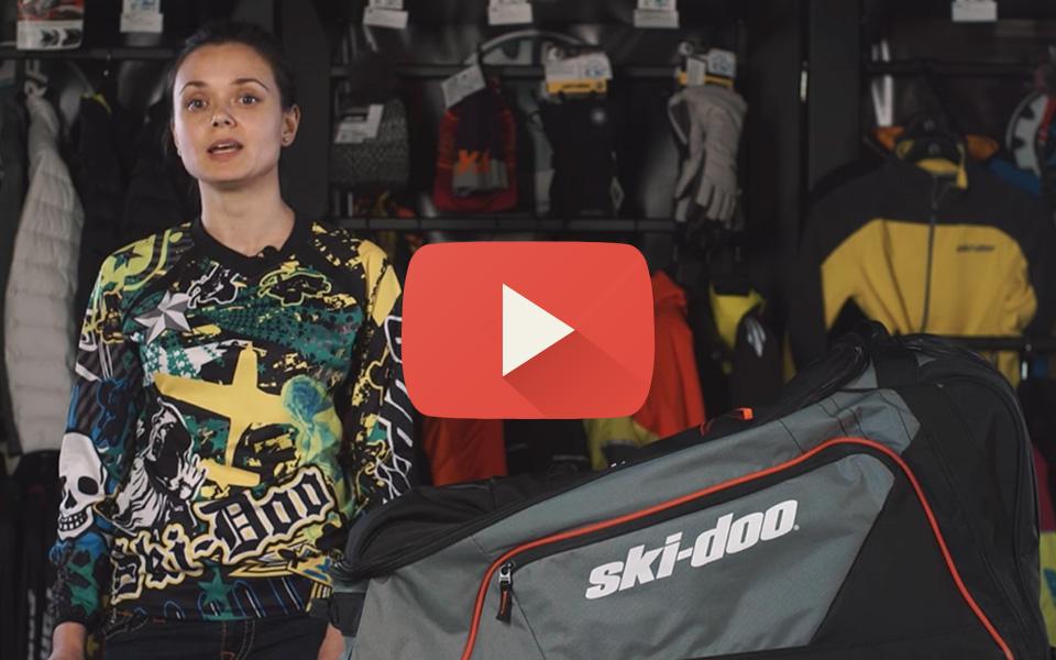 Видео обзор сумки Ski-Doo Big Mouth