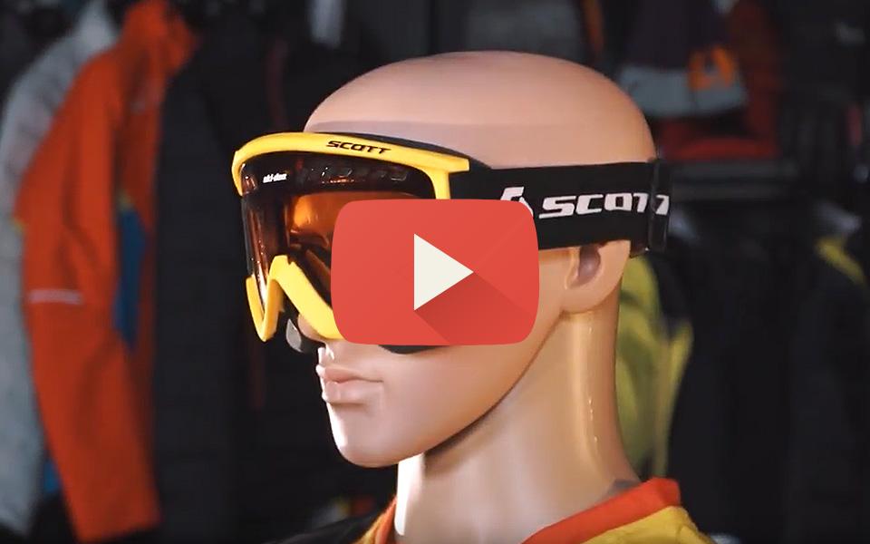 Обзор снегоходных очков Ski-Doo Holeshot by Scott