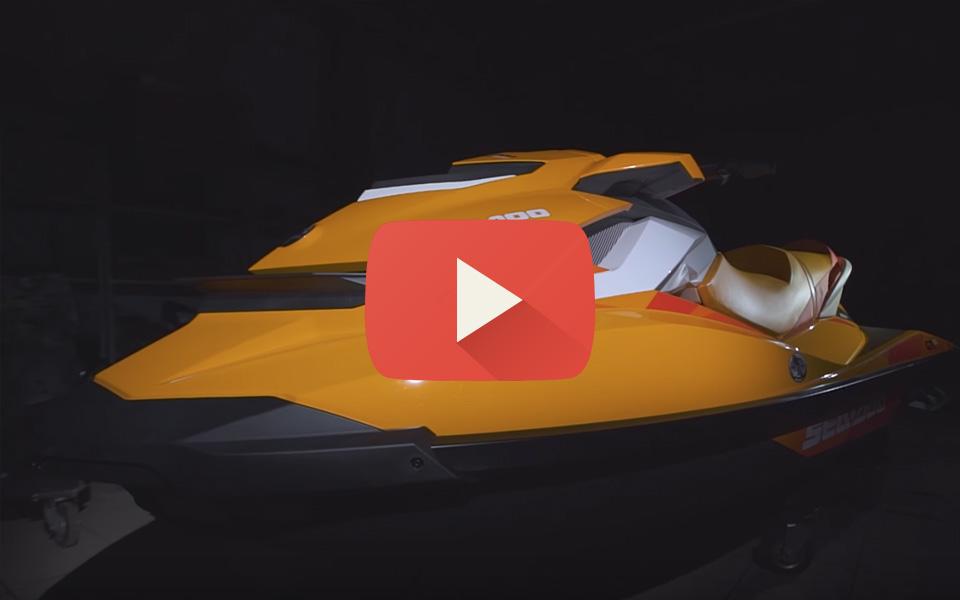 Видео обзор гидроцикла Sea-Doo GTI 90